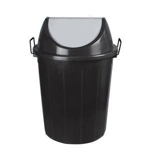 Odpadkový koš s výklopným víkem a klipy