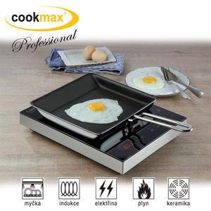 Pánev hranatá teflonový povrch Cookmax Professional