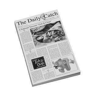 Papír voskovaný motiv noviny