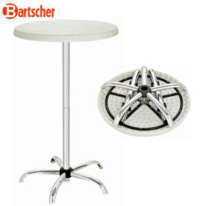 Party stůl skládací kulatý Bartscher