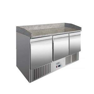 Pizza stůl chladicí ICE3852GR třídveřový 3x GN 1/1