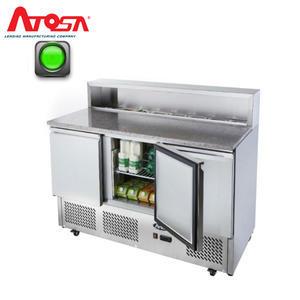 Pizza stůl chladicí ICE3854GR pro 7x GN 1/6