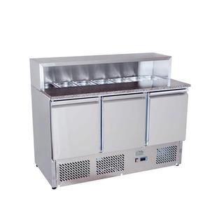 Pizza stůl chladicí ICE3858GR pro 7x GN 1/3
