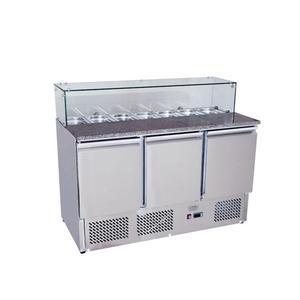 Pizza stůl chladicí ICE3864GR pro 7x GN 1/3