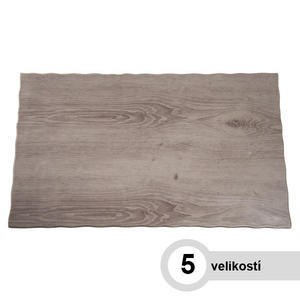 Plato melamin GN vzhled dřevo