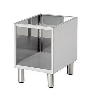 Podestavba nerezová otevřená B400 Bartscher