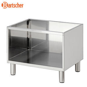 Podestavba nerezová otevřená B600 Bartscher