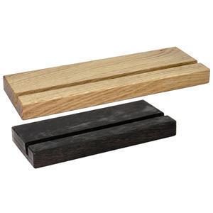 Podstavec dřevěný na desky s klipem