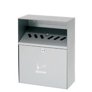 Popelník nástěnný stříbrný Bartscher
