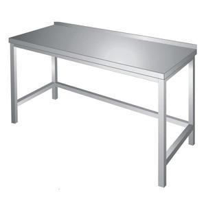 Pracovní stůl s trnoží nerez