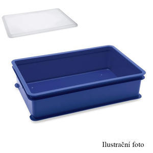 Přepravní a skladovací box modrý