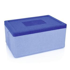 Přepravní termobox GN 1/1 modrý PP