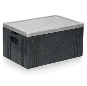 Přepravní termobox GN 1/1 šedý EPP