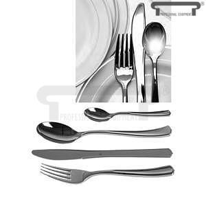 Příbor jednorázový stříbrný