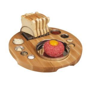 Prkno servírovací na tatarský biftek