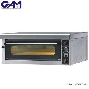 Profesionální pec na pizzu GAM M6 G TOP