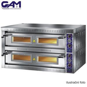Profesionální pec na pizzu GAM SB6 G TOP