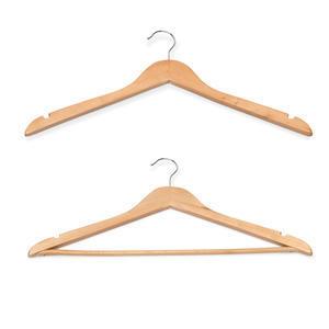 Ramínko na šaty a kalhoty dřevěné
