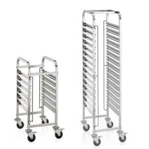 Regálový vozík na gastronádoby a tácy