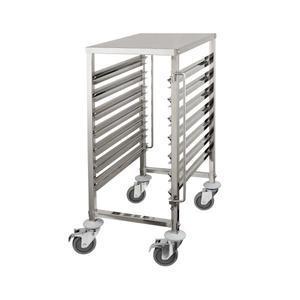 Regálový vozík s pracovní deskou