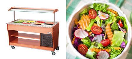 Salátové a teplé bary