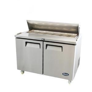 Salátový chladicí stůl 380 litrů MSF8302GR - 2dveřový