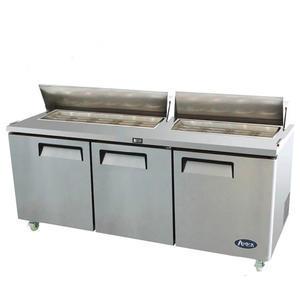 Salátový chladicí stůl 600 litrů MSF8304GR - 3dveřový