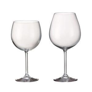 Sklenice na červené víno Bohemia Crystal