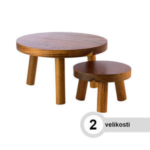 Stojan bufetový stolička dřevěná
