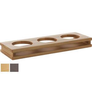 Stojan dřevěný Display Wood 3 otvory