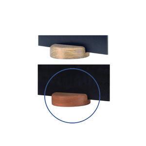 Stojánek kulatý dřevěný na tabulky
