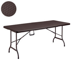 Stůl skládací hranatý 180x75 série Rattan