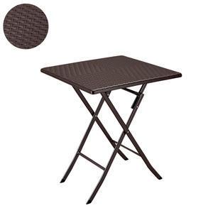 Stůl skládací hranatý 61,5 x 61,5 série Rattan