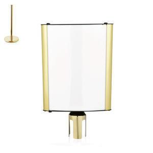 Tabule pro vymezovací stojan Highflex zlatá