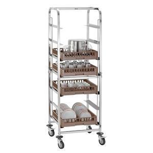 Transportní vozík na koše do myčky 50 x 50 cm Bartscher