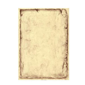 Vkladový list mramorový Classic s rámečkem