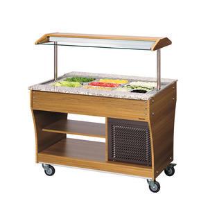 Vozík bufetový chladicí 3 GN 1/1 Bartscher