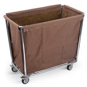 Vozík hotelový na prádlo hnědý