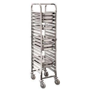 Vozík pro gastronádoby 18 vsuvů Bartscher