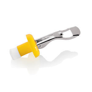 Zátka na lahve žlutá