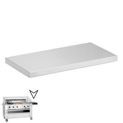 Boční odkládací deska k varné stanici Bartscher, 700 x 350 x 80 mm - 4,35 kg - 1