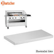 Boční odkládací deska k varné stanici Bartscher, 700 x 350 x 80 mm - 4,35 kg - 1/2