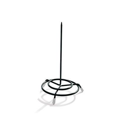 Bonovací jehla ocelový drát, černá - 15,5 cm