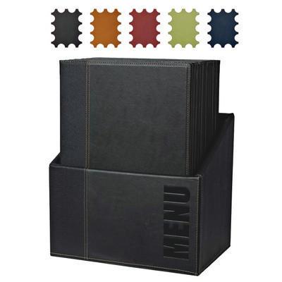 Box s jídelními lístky Trendy, zelená - 20 JL + box - A4 - 1