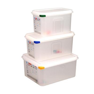 Box skladovací a přepravní 4 až 10 l, GN 1/3 - 32,5 x 17,6 x 15 cm - 6,0 l