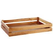 Bufetový systém Megabox dřevo, pro GN 1/2 - 350 x 290 x 105 mm - 1/5