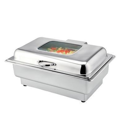 Chafing dish GN 1/1-100 mm elektrický nerez, GN 1/1-100 mm - 840-1000 W