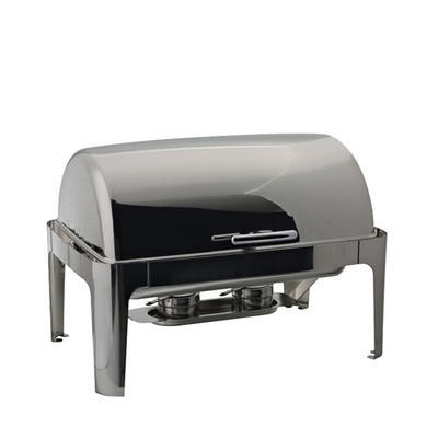 Chafing dish GN 1/1-65 mm s rolltopem kombi, GN 1/1-65 mm - 500W topení - 67 x 41 x 44 cm - 1