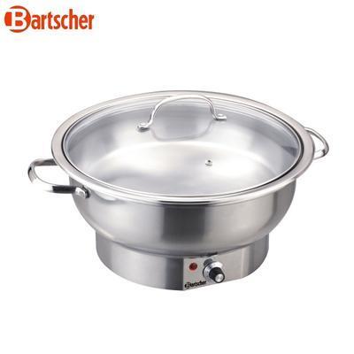 Chafing dish kulatý elektrický Bartscher, 3,8 l - 405 x 330 x 220 mm - 0,5 kW / 230 V