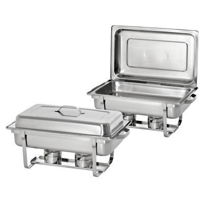 Chafing dish sada 2 ks Bartscher, GN 1/1-65 mm sada 2 ks - 8,6 kg